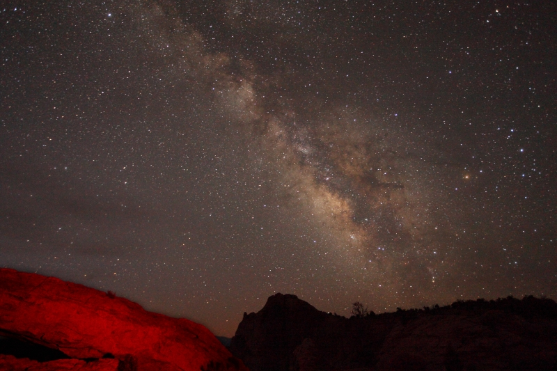 Milky Way Over Mesa Arch