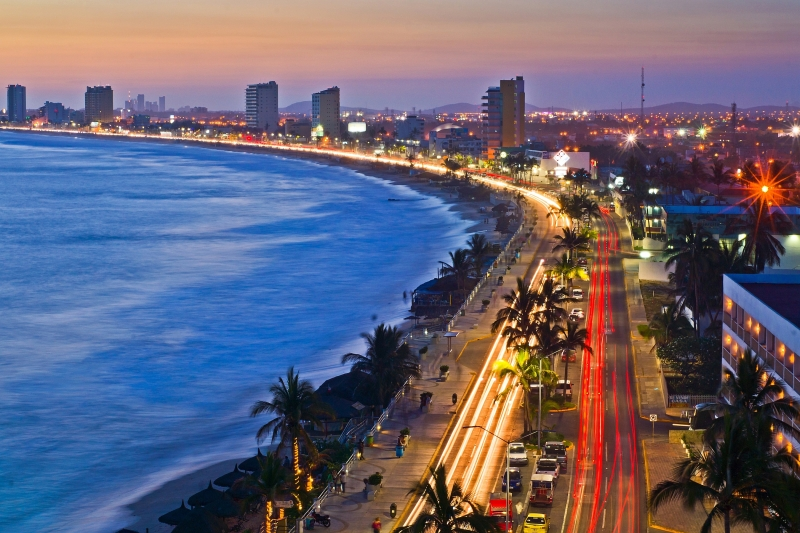 The Malecon Of Mazatlan