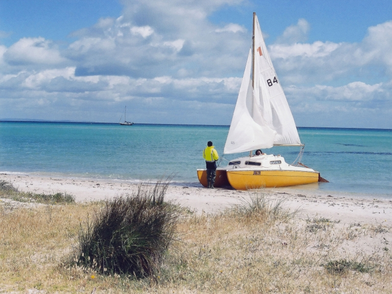 Sailing At Port Phillip Bay