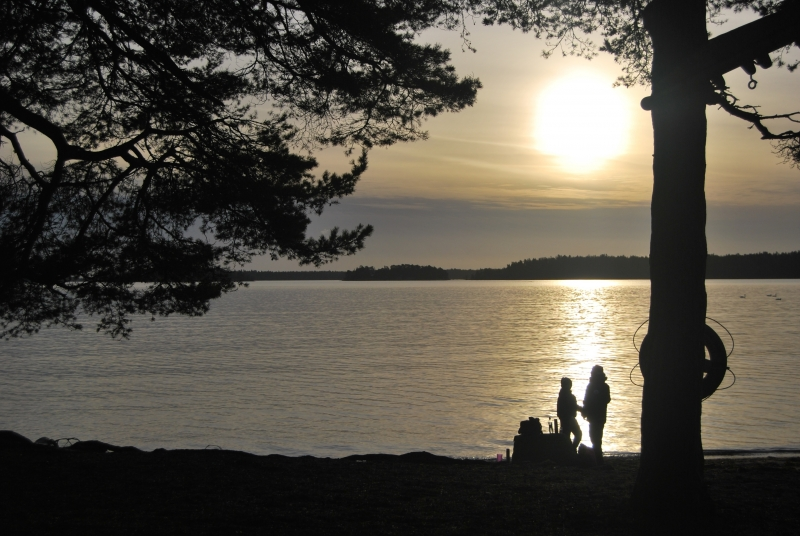 December In The Archipelago Of Sweden
