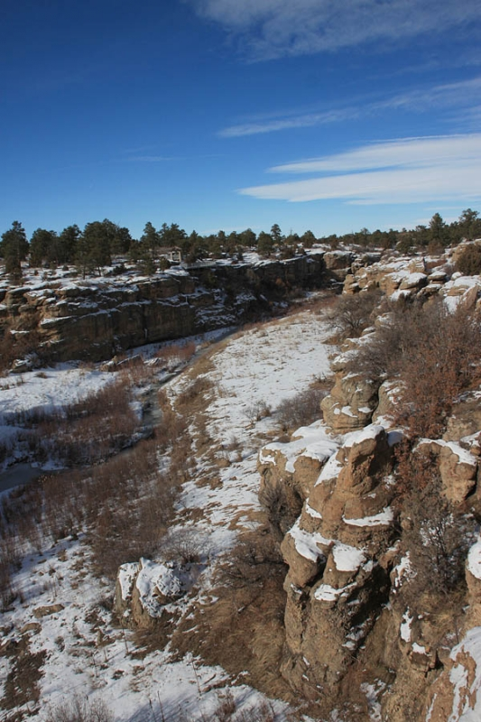 Castlewood Canyon Winter