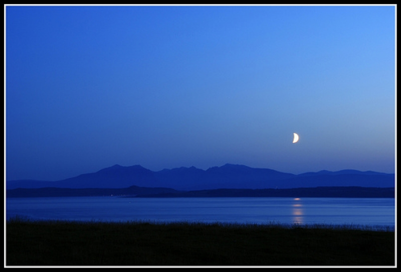 Moonlight Over Arran