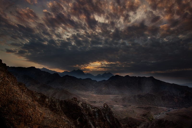 Oman Sunset