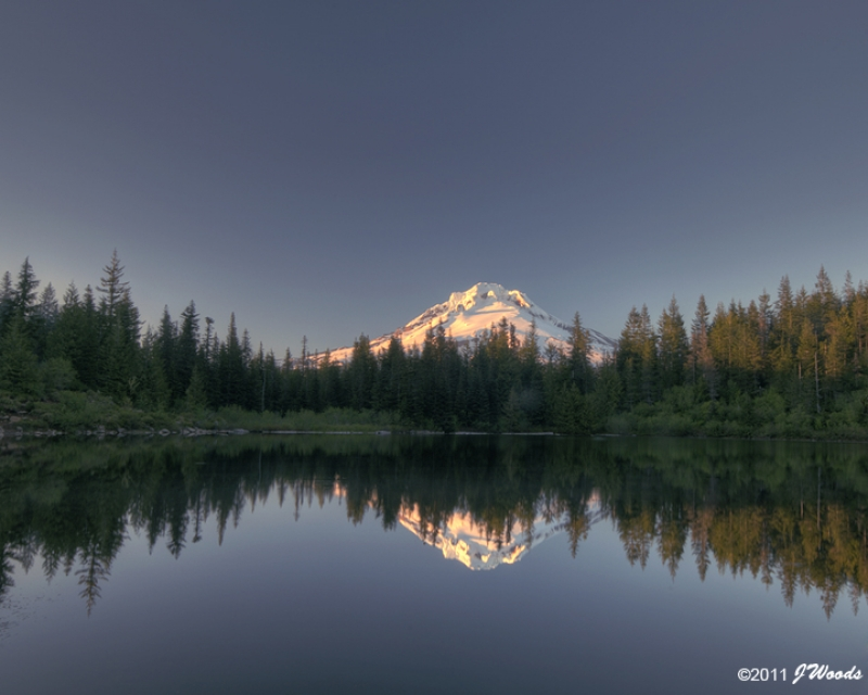 Mirror Lake Reflection