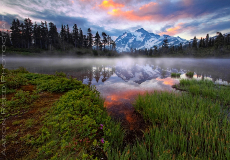 The Rise Of Mt Shuksan