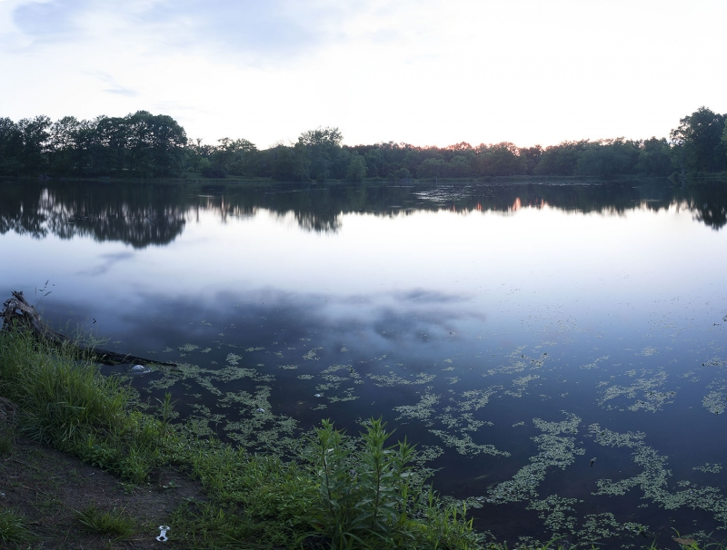 Clouds Within The Lake