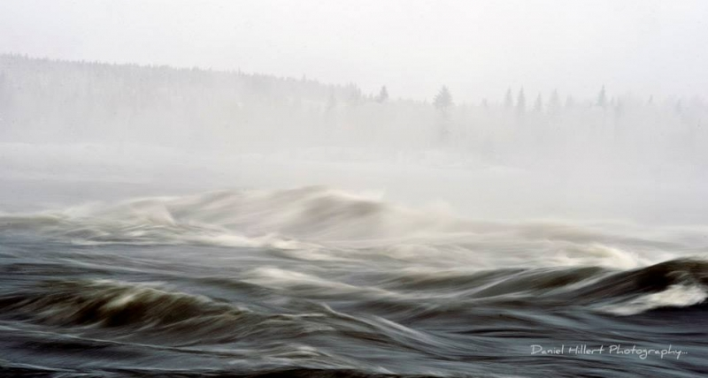 Misty Waters… Winter Rapids
