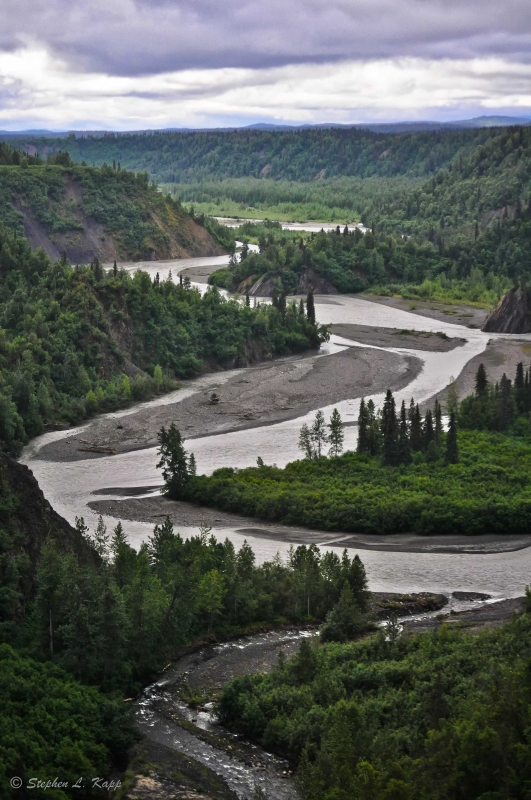 Winding Alaskan River