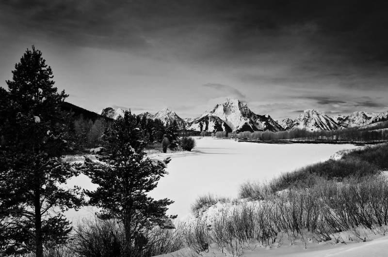 Oxbow Bend, Snake River Winter