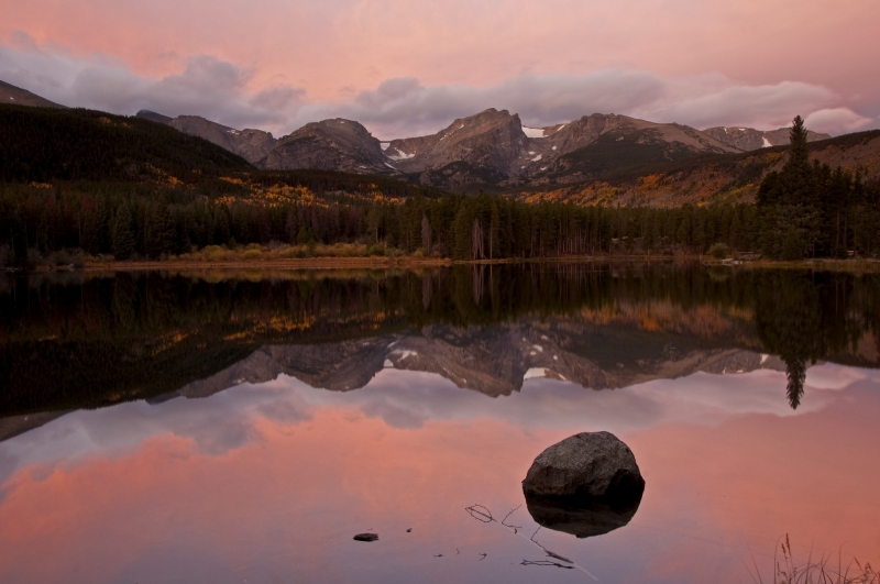 Sprague Lake Sunrise, Rmnp