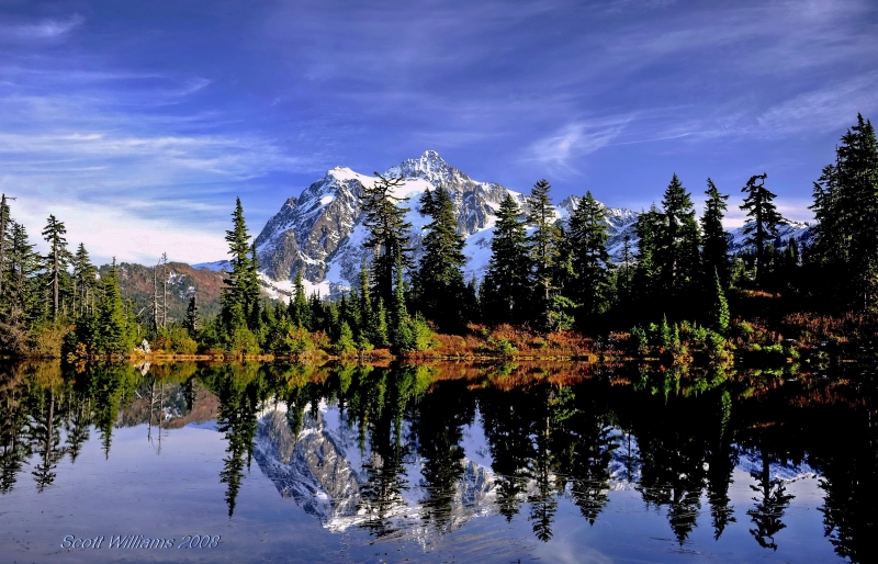 Mt. Shuksan – Fall 2008