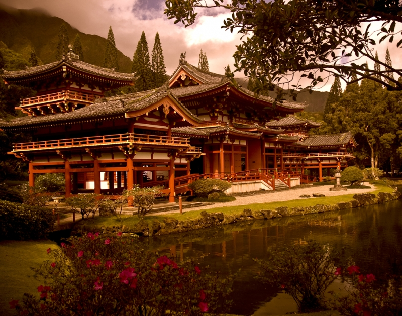 Byodo-in-temple, Hawaii