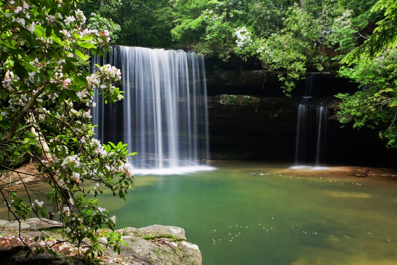 South Caney Creek Falls