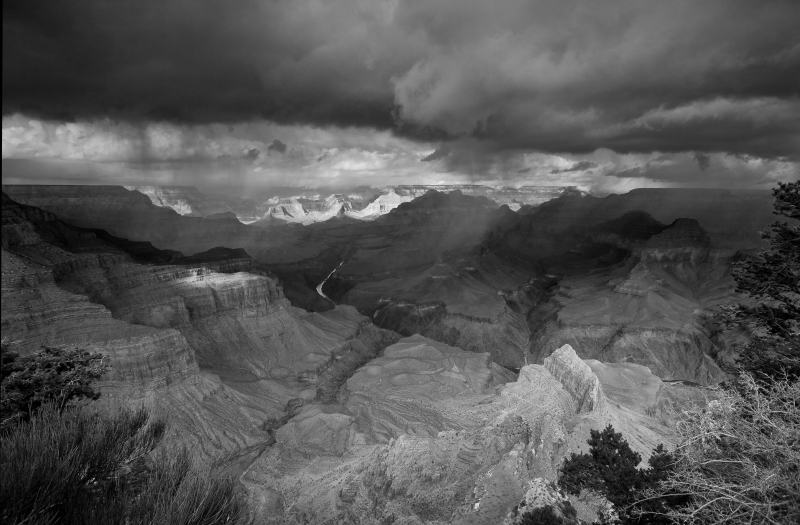 Storm Comin' In, Pima Point, Grand Canyon Np