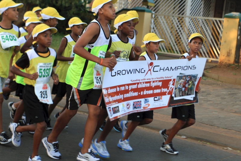 Growing Champions – Running For Charity
