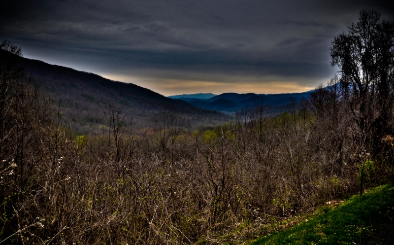 Smoky Mountains Overlook Hdr