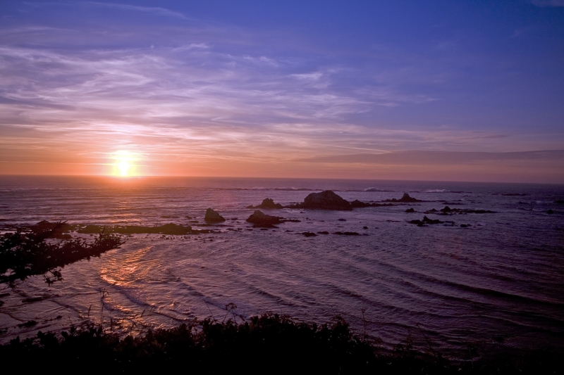 Peaceful Southern Oregon Coast Sunset