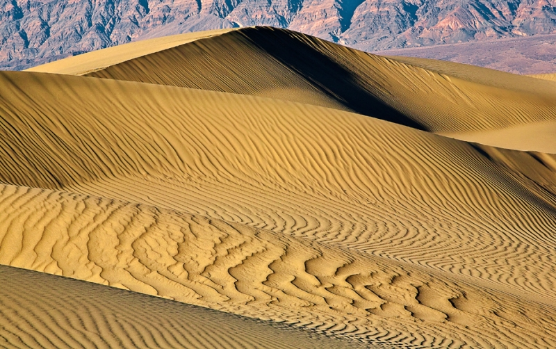 California, Death Valley National Park, Mesquite Dunes