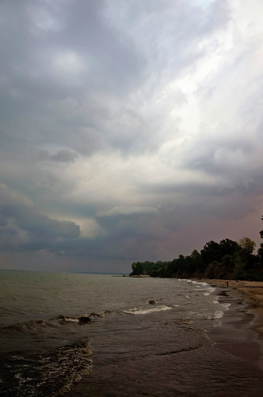 Storm Moving In Over Lake Erie