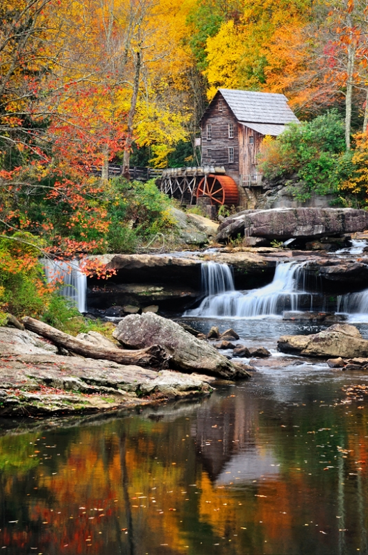 Glade Springs Grist Mill
