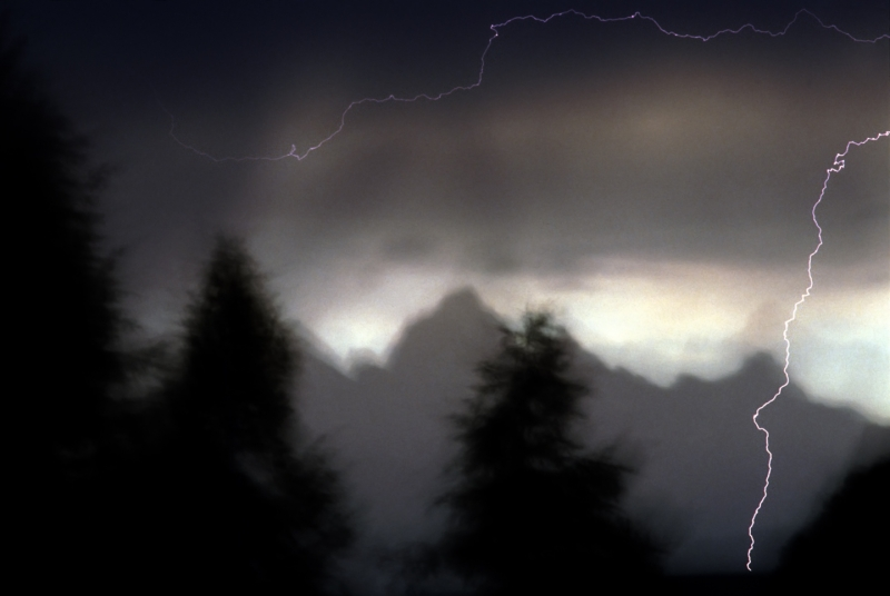 Lightning, Grand Tetons