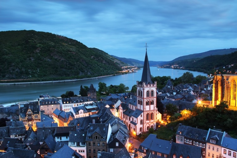 Bacharach At Twilight