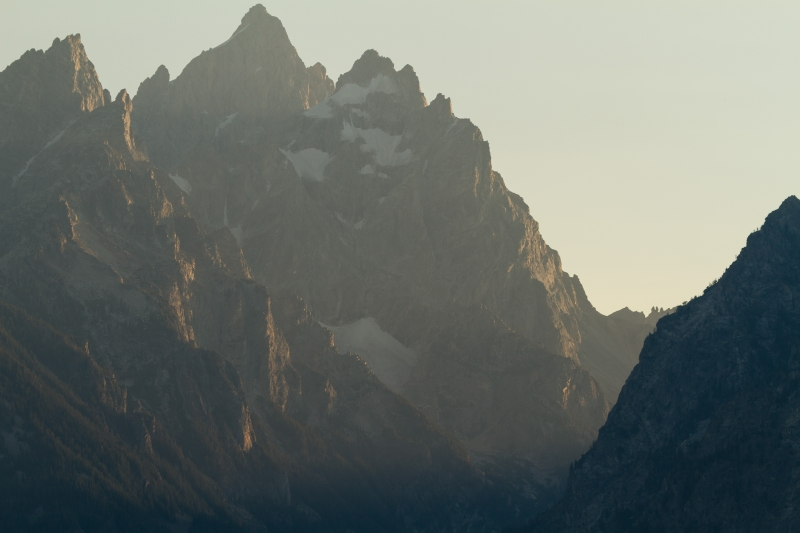 Grand Tetons In August