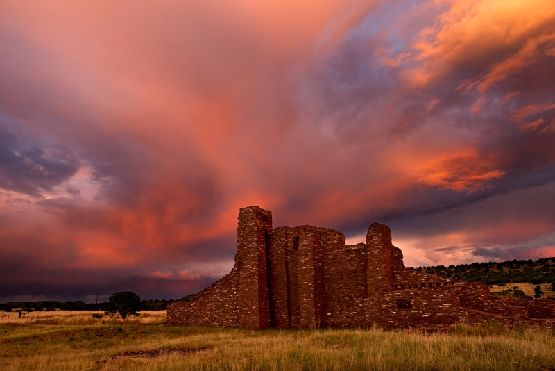 Stormy Sunset, Mission San Gregorio De Abo