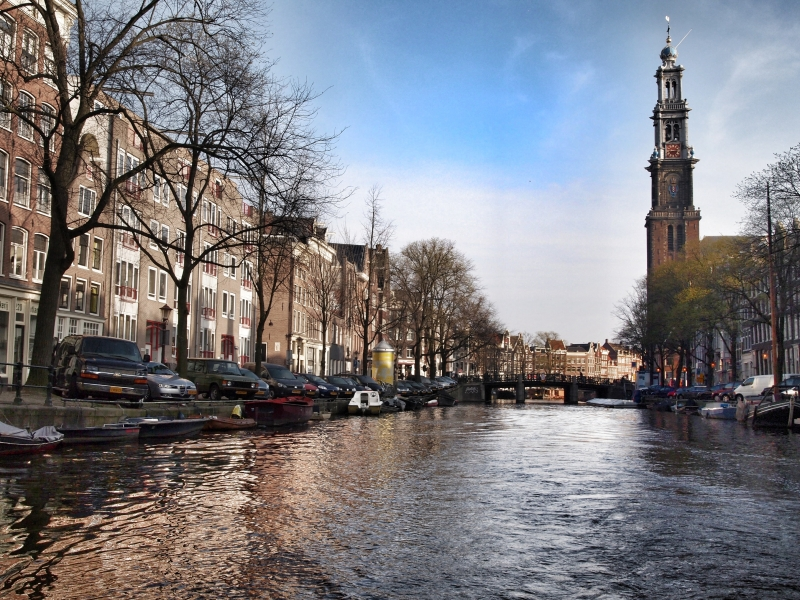 Sailing On The Amsterdam Canals