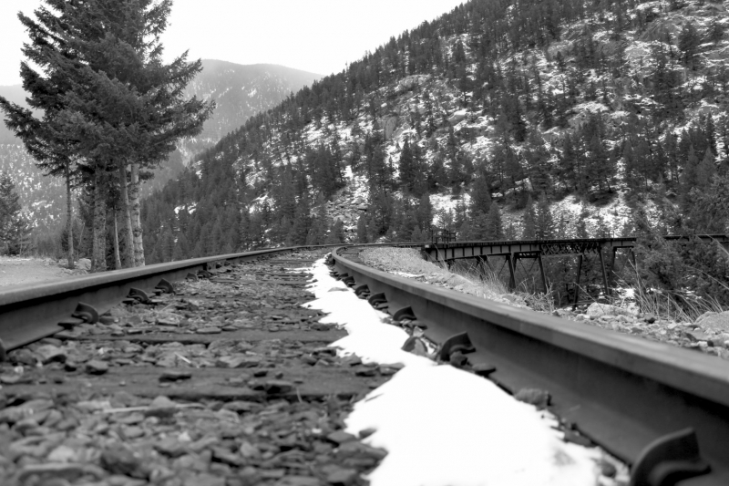 Tracks In The Mountains