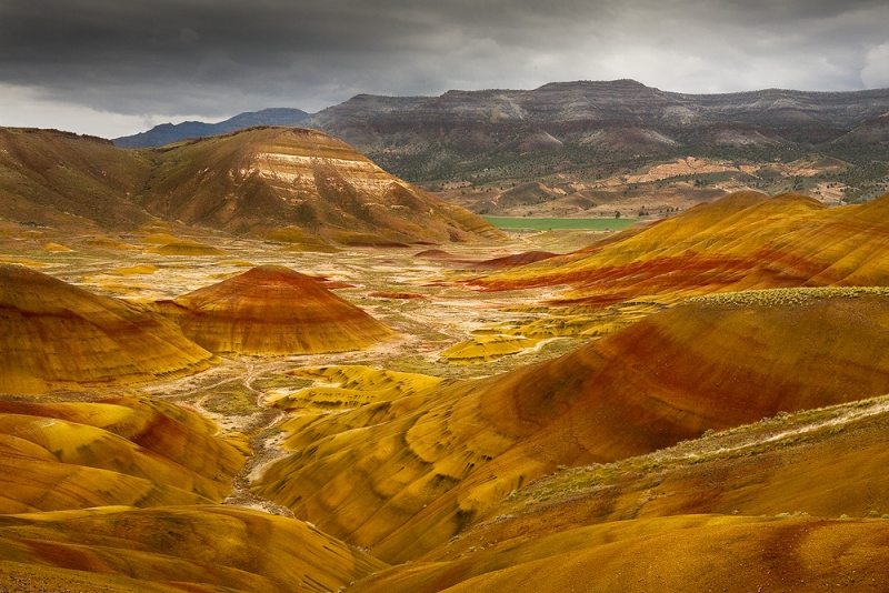 Painted Hills Glow