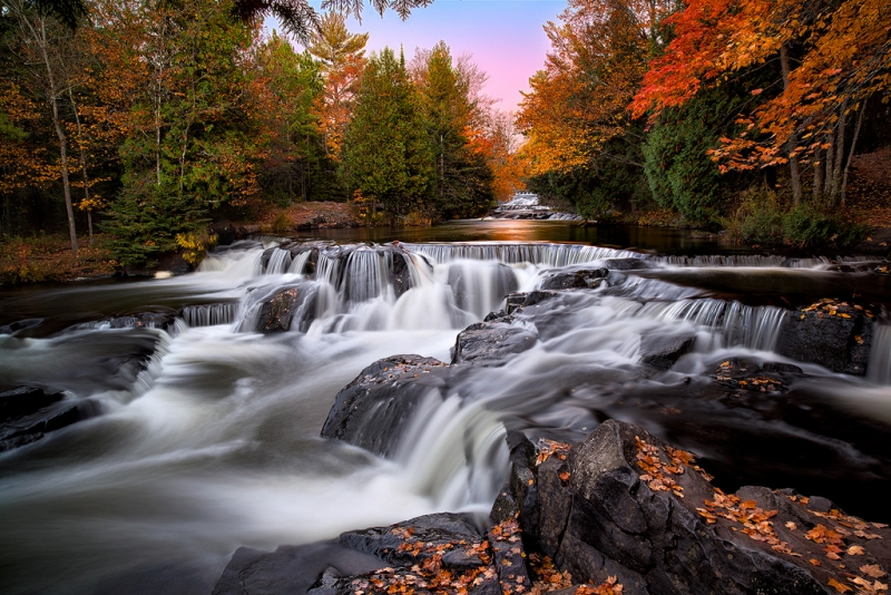Autumn Magic At Upper Bond Falls