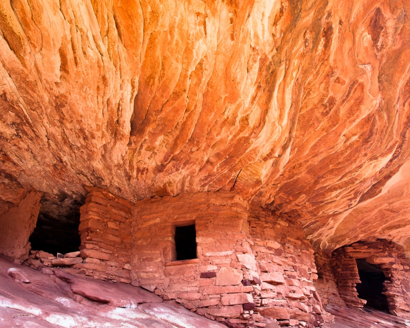House On Fire (remains Of Anasazi Granary)