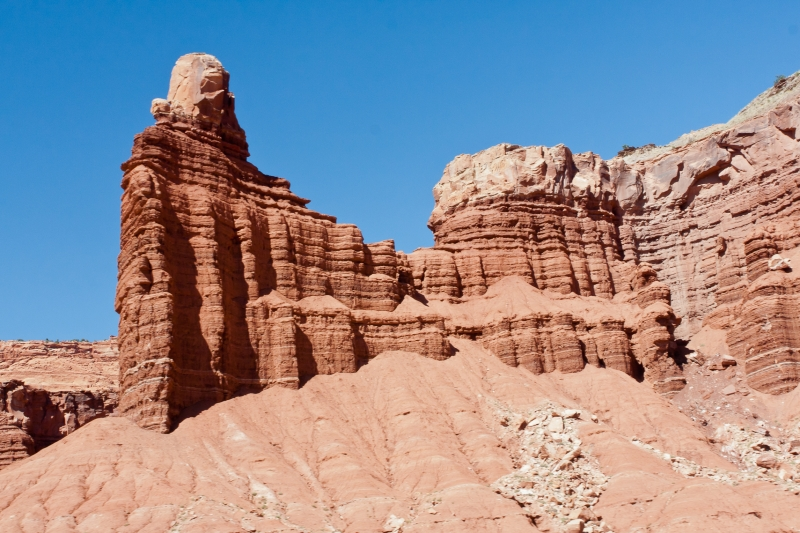 Great Wall In Capitolreef Park