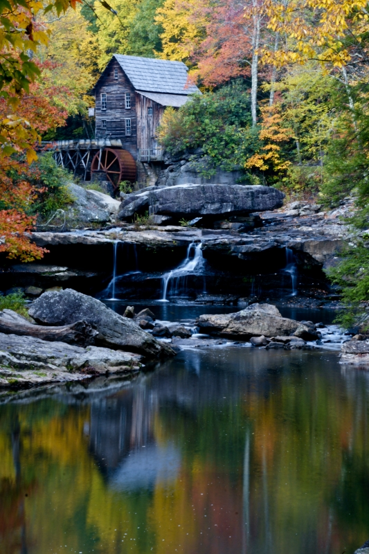 Reflections Of Old Mill