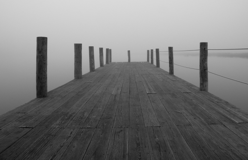 Foggy Morning Dock