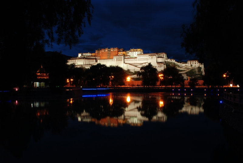 Potala Reflection