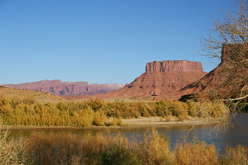 Red Rock Country In Fall