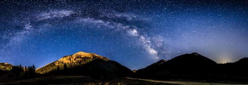Milky Way Panoramic Arch