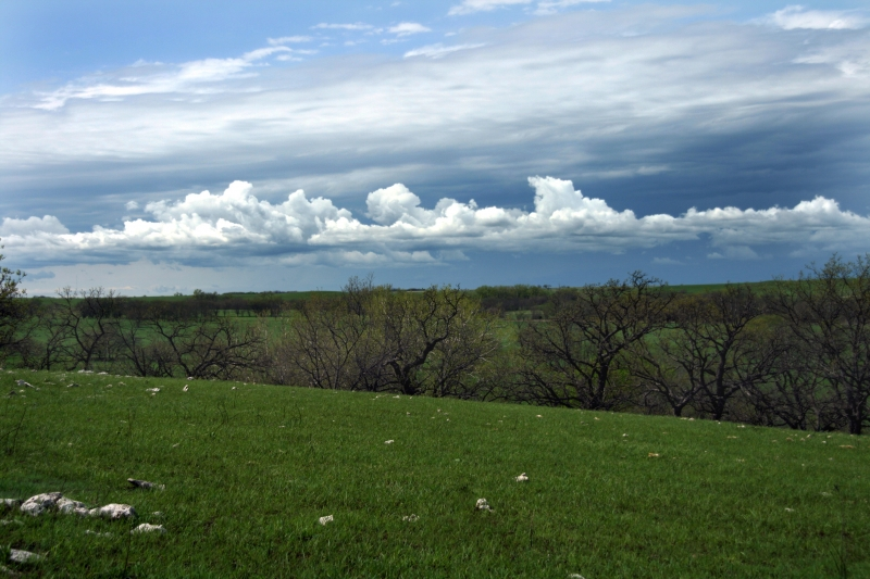Gathering Storm In The Flinthills