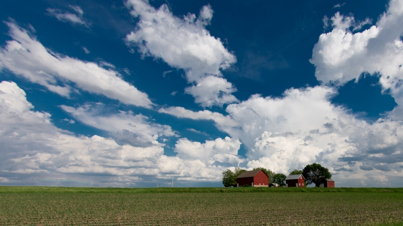 Clouds And Barns