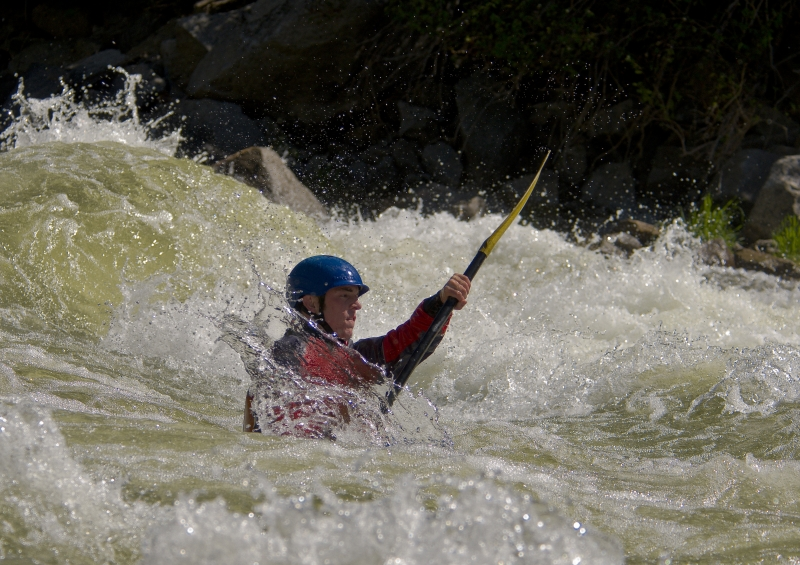 Payette River Kayaker