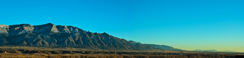 Sandia Mountains Pano