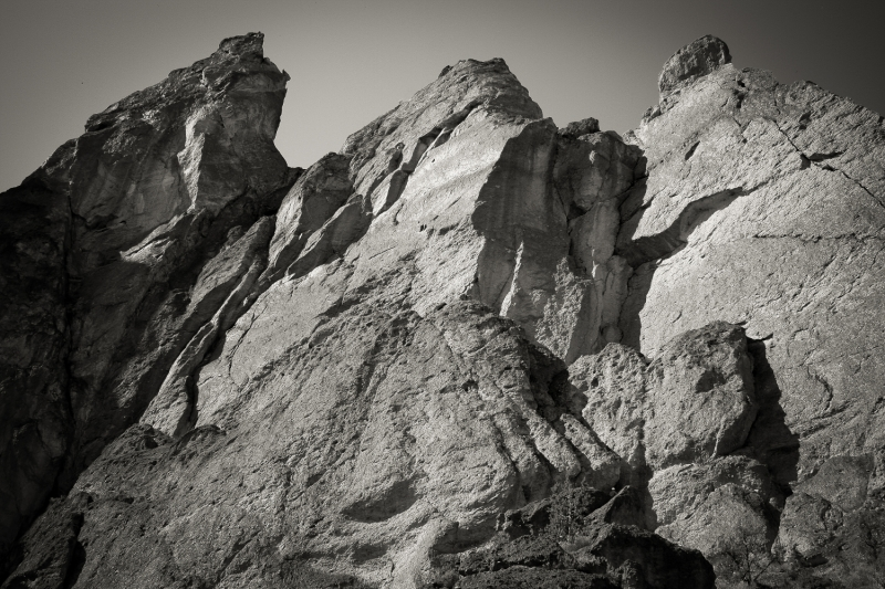 Cliffs At Smith Rock