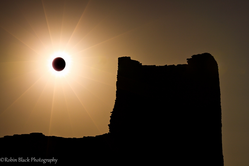 Annular Eclipse, Wukoki Pueblo