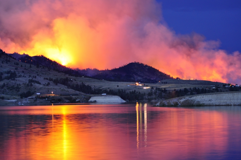 Indian Creek Fire