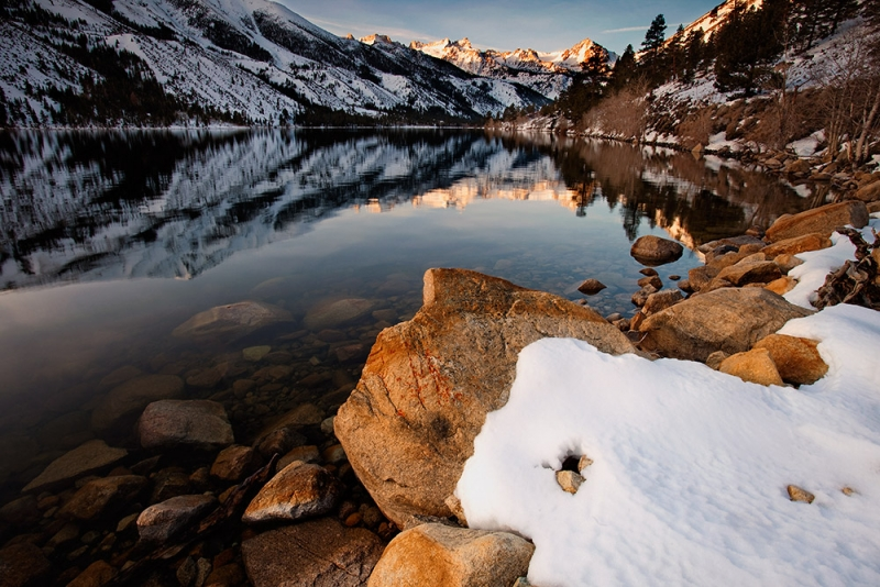 Twin Lakes, Sierra Nevada Mountains
