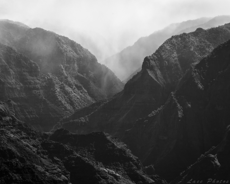Canyon In The Mist