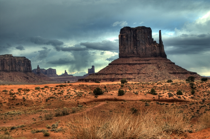 Clearing Storm Monument Valley