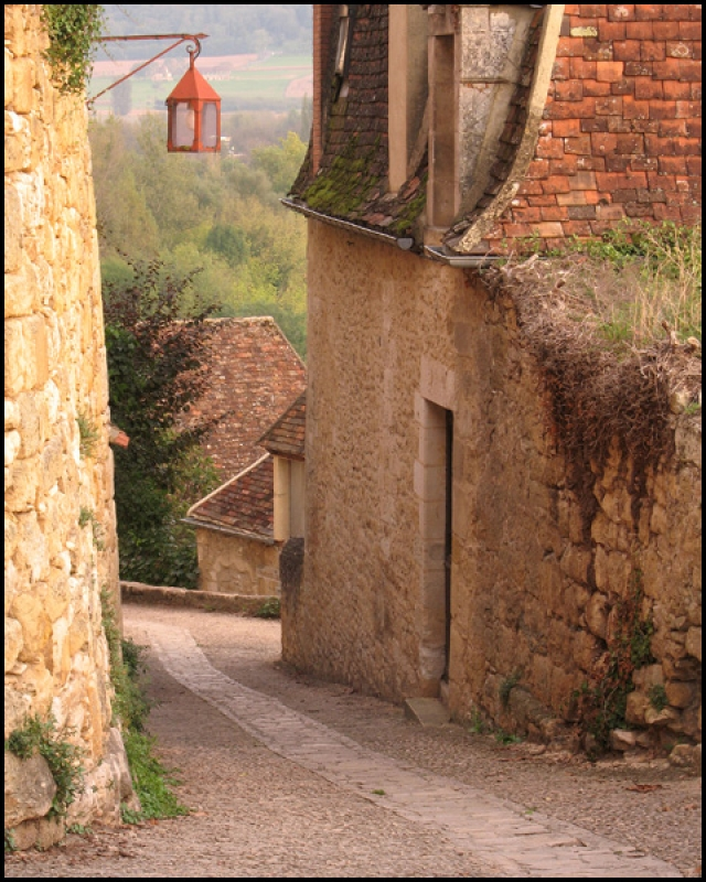 Down The Lane In Beynac